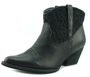 Very Volatile Libbylou Pointed Toe Leather Western Boot.