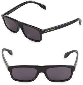 Alexander McQueen Women's 51MM Rectangle Sunglasses