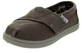 Toms Toddlers Tiny Classics Ash Canvas Casual Shoe.