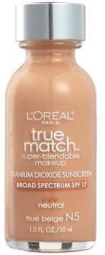 L'Oreal Paris True Match Super-Blendable Makeup, SPF 17