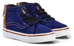 Vans Navy TD SK8-Hi Zip MTE Blue Depths Shoes