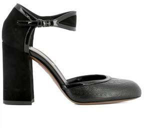 Etro Women's Black Leather Sandals.