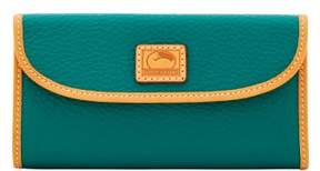 Dooney & Bourke Patterson Leather Continental Clutch Wallet - LEAF - STYLE