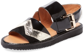 F-Troupe Women's Flash Leather Sandal