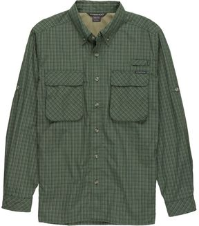 Exofficio Air Strip Macro Plaid Shirt - Long-Sleeve