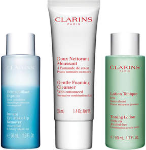 Clarins Cleansing Collection for Normal to Combination Skin