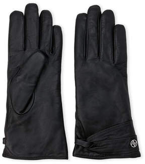 Adrienne Vittadini Leather Gloves