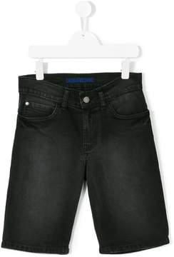 Zadig & Voltaire Kids Teen faded denim shorts