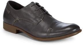 John Varvatos Men's Laceless Blucher Leather Dress Shoes