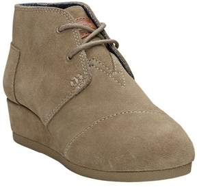 Toms Unisex Children's Desert Wedge Bootie