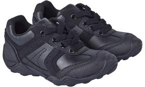 Geox Black Arno Lace Up Trainers
