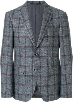 Pal Zileri checkered blazer