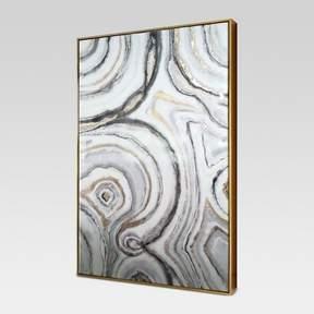 Geode Framed Canvas