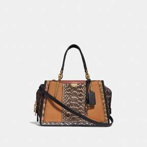 Coach Dreamer In Colorblock With Snakeskin Detail