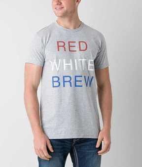 Junk Food Clothing Red White Brew T-Shirt