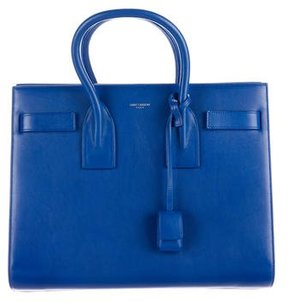 Saint Laurent Small Sac du Jour - BLUE - STYLE