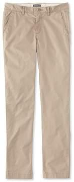 L.L. Bean L.L.Bean Signature Twill Chino Pants with Stretch, Slim Straight