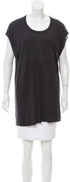 Enza Costa Cap Sleeve Scoop Neck T-Shirt w/ Tags