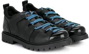 DSQUARED2 Teen Techno Cord brogues