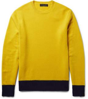 Rag & Bone Two-Tone Shetland Wool-Blend Sweater