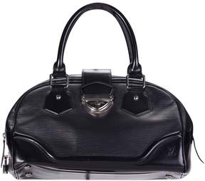 Louis Vuitton Montaigne leather bowling bag - BLACK - STYLE