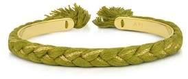 Aurelie Bidermann Women's Green Steel Bracelet.