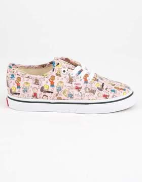 Vans x PEANUTS Dance Party Authentic Toddlers Shoes