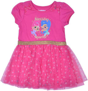 Nickelodeon Shimmer and Shine Short Sleeve Skater Dress - Toddler Girls