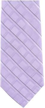 Michael Kors Premier Grid Necktie Purple One Size