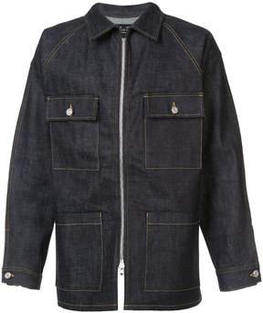 Fear Of God zipped denim jacket