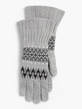 Talbots Zig-Zag Gloves
