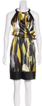 Tahari Knee-Length Satin Dress