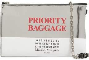 Maison Margiela Priority Baggage Leather Shoulder Bag