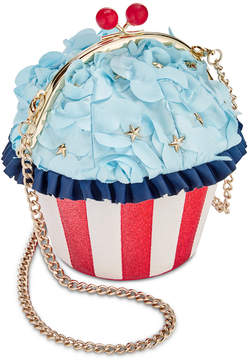 Betsey Johnson Baked In The Usa Cupcake Crossbody