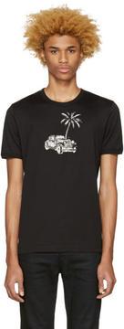 Dolce & Gabbana Black Palm Tree T-Shirt