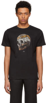 Paul Smith Black Large Skull T-Shirt