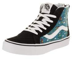 Vans Kids Sk8-hi Zip (dino Party Train) Skate Shoe.