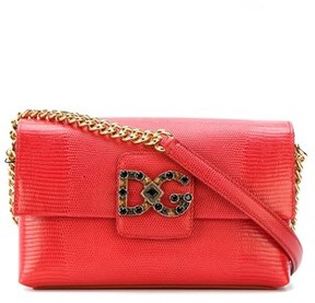 Dolce & Gabbana Dolce E Gabbana Women's Red Leather Shoulder Bag. - RED - STYLE