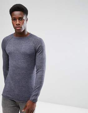Blend of America Relaxed Roll Hem Sweater