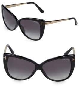 Tom Ford 57MM Butterfly Sunglasses