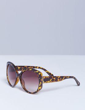 Lane Bryant Oversized Tortoiseshell Sunglasses