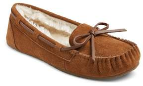 Mossimo Women's Chaia Suede Moccasin Slippers