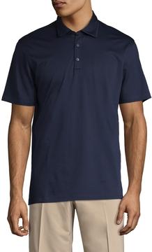 Ermenegildo Zegna Men's Buttoned Polo Shirt