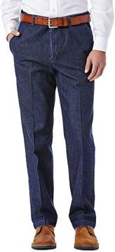 Haggar Men's Work to Weekend® Classic-Fit Flat-Front Denim Pants