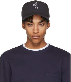 Rag & Bone Black Dylan Baseball Cap