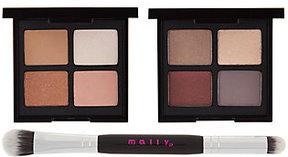 Mally Beauty Mally Open Up! Eyeshadow Quad Duo