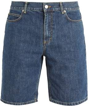 J.W.Anderson Long cotton-denim shorts