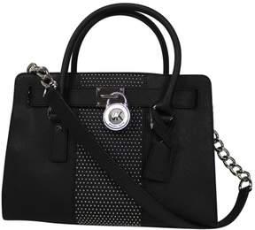 Michael Kors Leather handbag - BLACK - STYLE