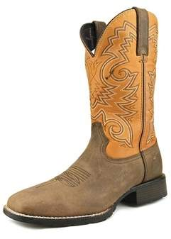 Durango Mustang 12 Western Square Toe Leather Western Boot.