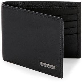 Ben Sherman Black Hackney Traveler Bifold Wallet